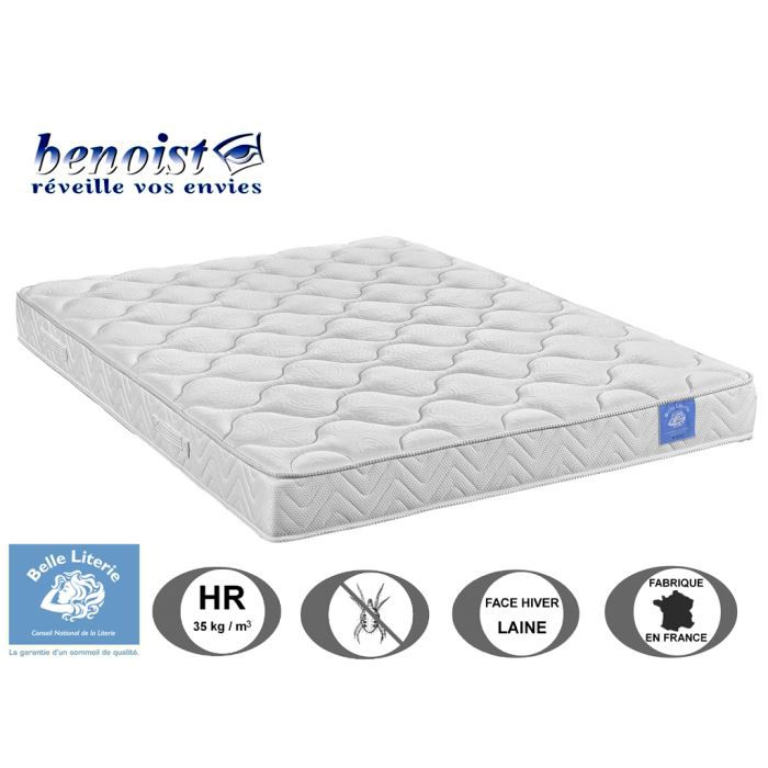 matelas kiwi 18cm belle literie par benoist 160 achat vente matelas cdiscount. Black Bedroom Furniture Sets. Home Design Ideas