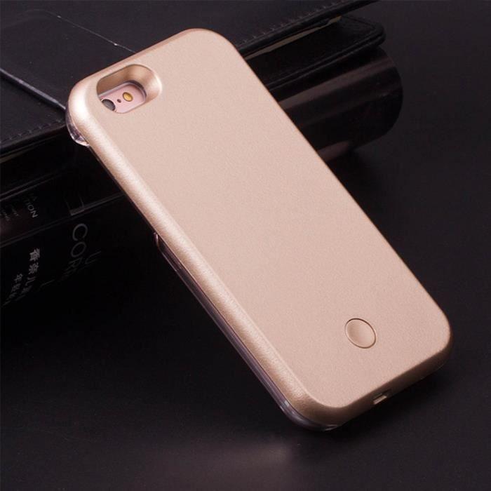 coque led flash selfie iphone 6 6s 4 7 etui g