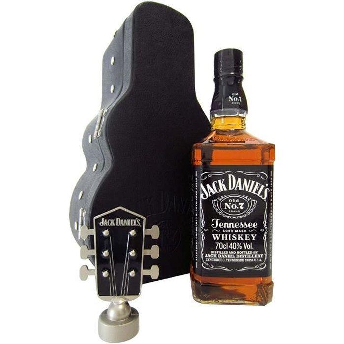 WHISKY BOURBON SCOTCH Jack Daniels - Guitar Case Edition - Whisky:  Epic