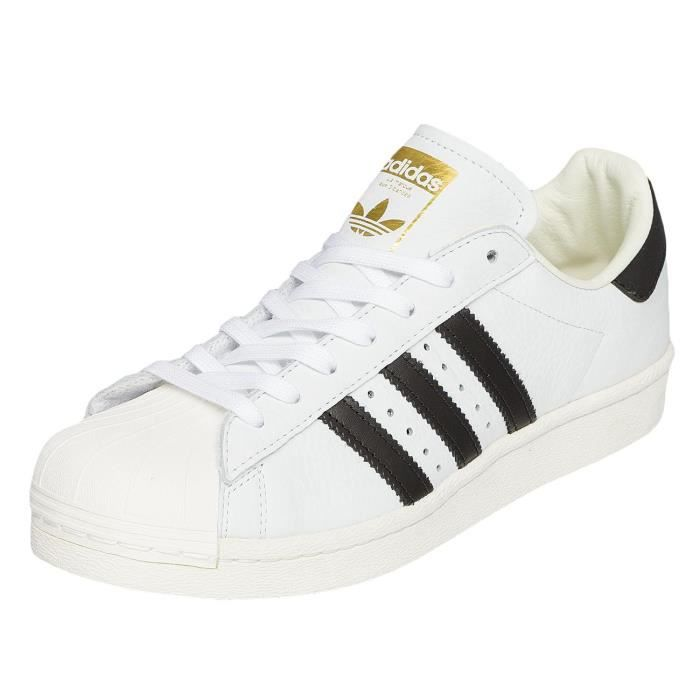 90015e723b Adidas Homme Chaussures / Baskets Superstar Boost Blanc Blanc ...