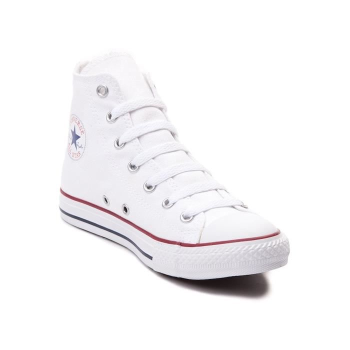 Converse All Star Salut Top Chaussures Blanc Optique M7650 OSI2S Taille-37 1-2 5u6KDU0B