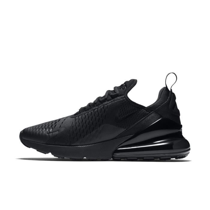 new style 01133 ecff0 Basket Nike Air Max 270 Homme Running Chaussures Noir AH8050-005