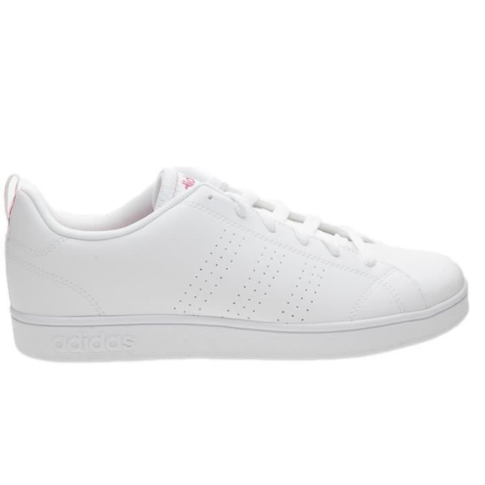 365cb1110 Baskets Adidas Vs Advantage Clean K BB9976 Blanc Blanc - Achat ...