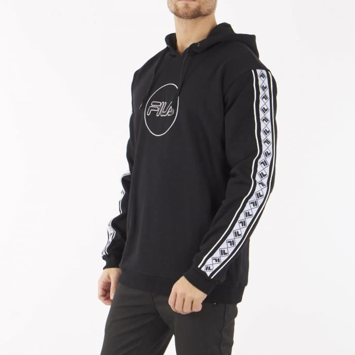 Sweat Fila Rangle 687028 002 Noir.