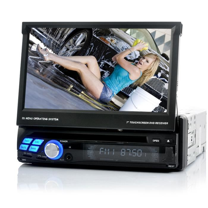 autoradio multimedia dvd 1din android gps wifi achat. Black Bedroom Furniture Sets. Home Design Ideas