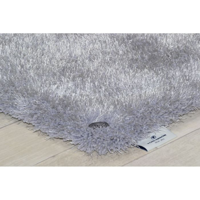 tapis shaggy soft gris tom tailor achat vente tapis tapis shaggy soft gris tom prix. Black Bedroom Furniture Sets. Home Design Ideas