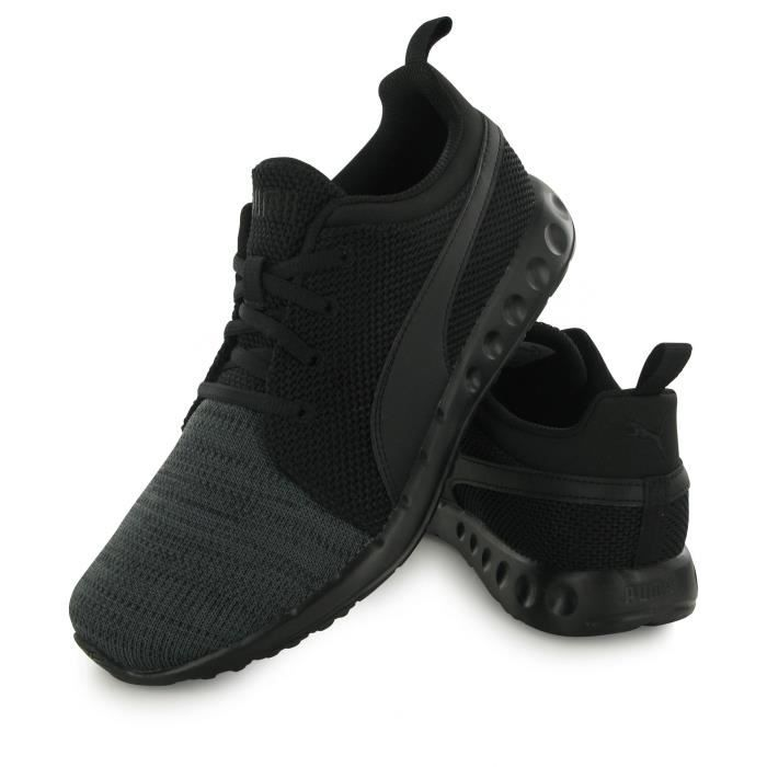 Puma Carson Knit Eea noir, baskets mode homme