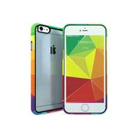 COQUE - BUMPER I-PAINT Coque iPhone 6/6S - Arc-en-ciel