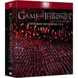 Bluray Game Of Thrones Saisons 1 à 4