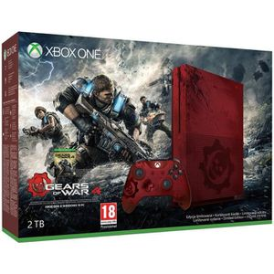 CONSOLE XBOX ONE Xbox One S 2To Gears of War 4 Limited Edition