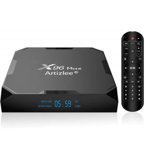 BOX MULTIMEDIA TV Box, 6Go 64Go - ARTIZLEE® Smart Box TV X96 Max