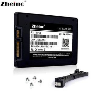 DISQUE DUR SSD Zheino SSD 120 Go SSD A3 2,5 TLC pouces Sata III 3
