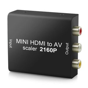 REPARTITEUR TV Convertisseur 4K 2160p HDMI vers AV HDMI à 3RCA Co