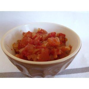 TOMATE Tomates pelées concassées au jus 3825 gr en cuisin