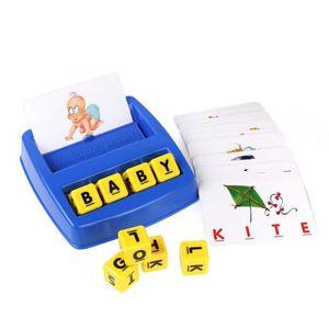 JEU CONSOLE ÉDUCATIVE Jeu Educatif matching letter game pour enfant de 3