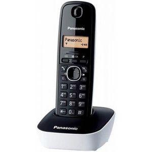 Téléphone fixe Téléphone fixe sans fil couleur noir - Téléphone p