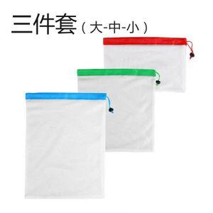 POUTRE - DÉCO PLAFOND Sacs réutilisables de maille de poutre de stockage