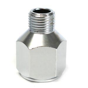 Adaptateur standard de 1//8-1//4 sur les deux extr/émit/és de raccord avec connecteurs Tuyau d/'air tress/é EVA 1,8 m pour a/érographe et compresseur d/'air