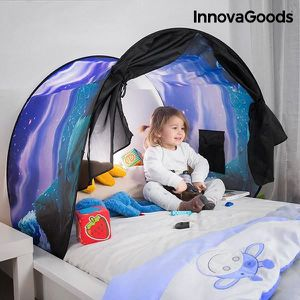 TENTE DE CAMPING Tente de lit en pour enfants - cabane pour enfant
