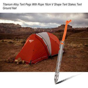 Sardines Tente en M/étal Robuste Piquets de Camping Alliage dAluminium ZOCIPRO 18Pcs Piquet de Tente Auvent de Camping et Caravane Piquet Tente Sol Dur Tent Accessoire pour Gazebo Camping