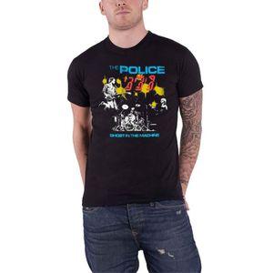 La police rock band Ghost in the machine Album Art T-Shirt à Manches Longues S-3XL