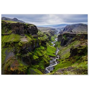 AFFICHE - POSTER Panorama® Poster Islande Cerce d'Or 30 x 21 cm - I