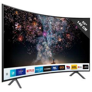 Téléviseur LED TV LED plus de 52 pouces SAMSUNG - UE 55 RU 7305 •