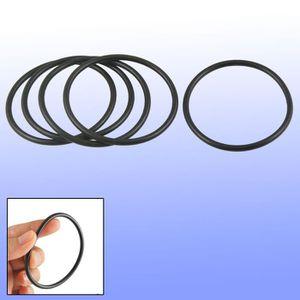 20 Pcs 16.5mm OD 2.65mm Épaisseur Joint D/'étanchéité Anneaux Rondelles Noir