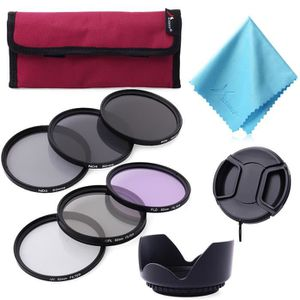 FILTRE PHOTO XCSOURCE® 62mm Kit de Filtres UV CPL FLD ND2 ND4 N