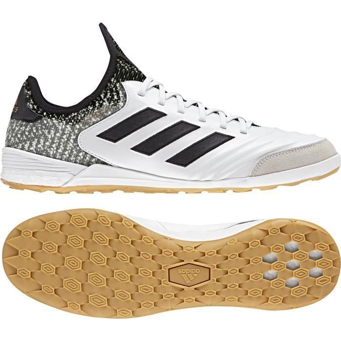 Chaussures de football adidas Copa Tango 18.1 Indoor - blanc/noir/gris - 42