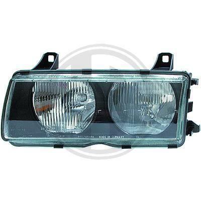 1213085 Feu phare gauche ( cote conducteur ) pour BMW Serie 3 Compact de type E36 de 1991 a 1999 Look Origine