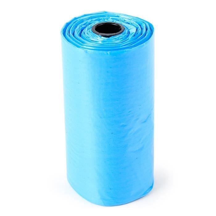 Sac de proprete excrements,100 rouleau 1500 pièces chien sac merde zéro déchets animaux de compagnie déchets - Type blue-1500PCS