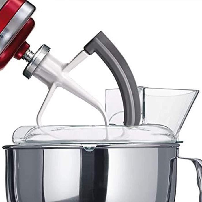 robot patissier Accessoires Pour Mixeur Kitchen Aid Artisan Batteur Plat Souple Pour Robot Artisan Pour La Cuisson Du Meacutelan134