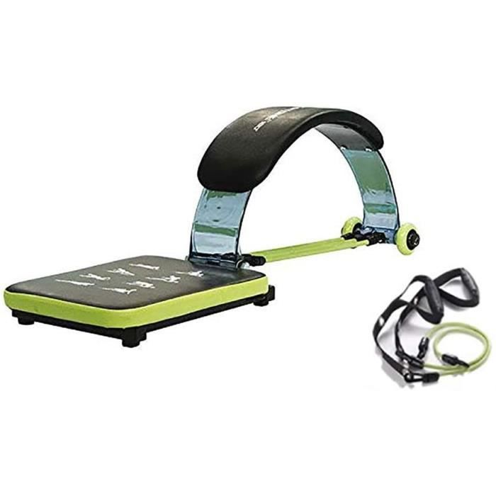BANC DE MUSCULATION Hobby Tech Appareil abdominaux pour Musculation + &Eacutelastiques Fitness - Wavertone 180 - avec CD d'en547