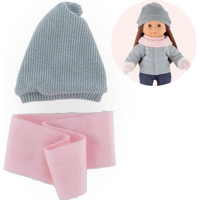 COROLLE - Ma Corolle - Bonnet & snood pour poupée ma Corolle