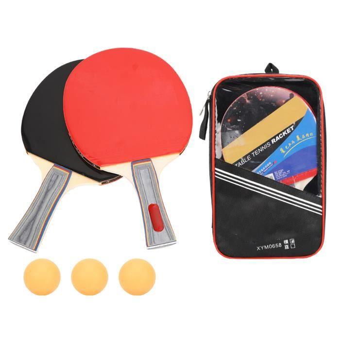☀ Débutant Rudimentaire École Formation Shakehand Grip Tennis De Table Paddle Ping Pong Balles Ensemble Équipement Sportif -C-☀GOL☀