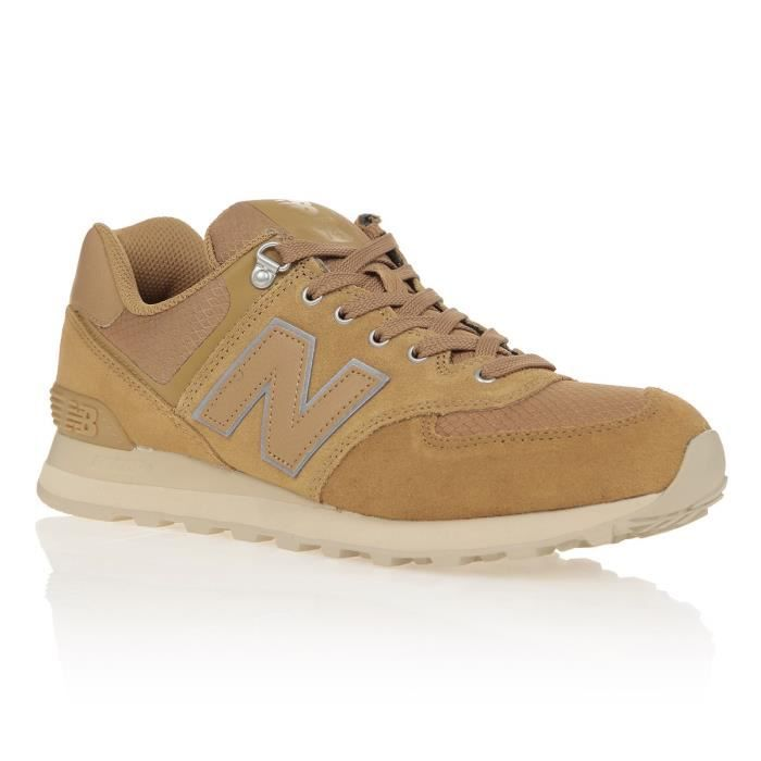 NEW BALANCE Baskets Collection 574 Beige Mixte