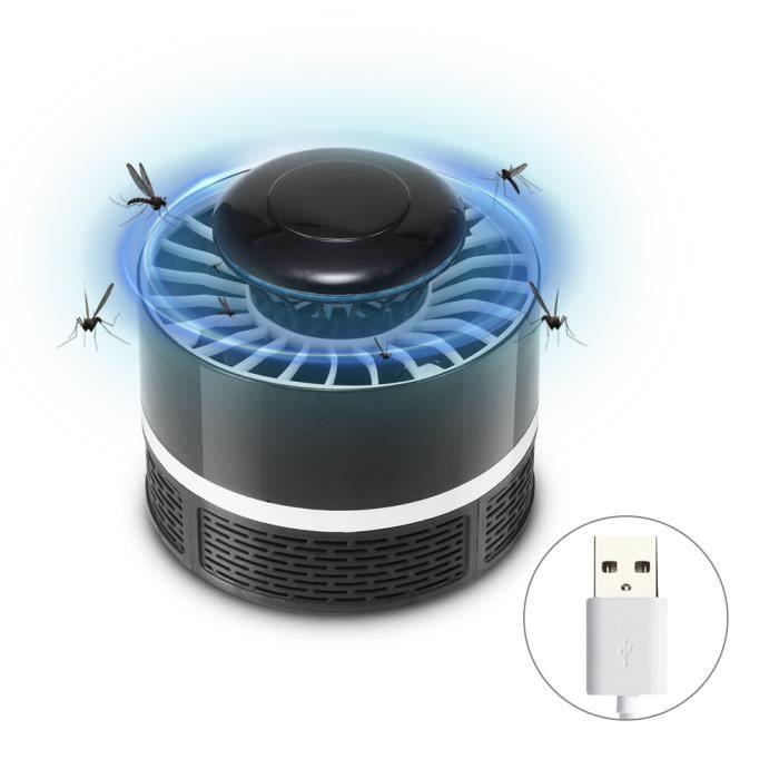 Répulsif Mouche Insecte Zapper Anti Moustique Lampe Electrique Intérieur et Extérieur