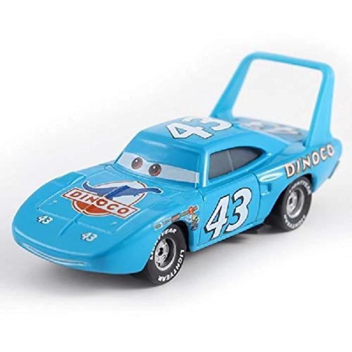 Disney Pixar Cars 1 NO.43 Dinoco Le roi 1:55 Diecast Metal Voiture jouet