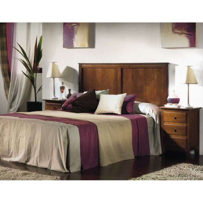 t te de lit en bois mod le monaco achat vente t te de lit cdiscount. Black Bedroom Furniture Sets. Home Design Ideas
