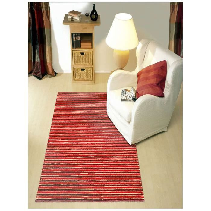 life combi rouge 200x200 par paulig tapis moderne achat vente tapis cdiscount. Black Bedroom Furniture Sets. Home Design Ideas