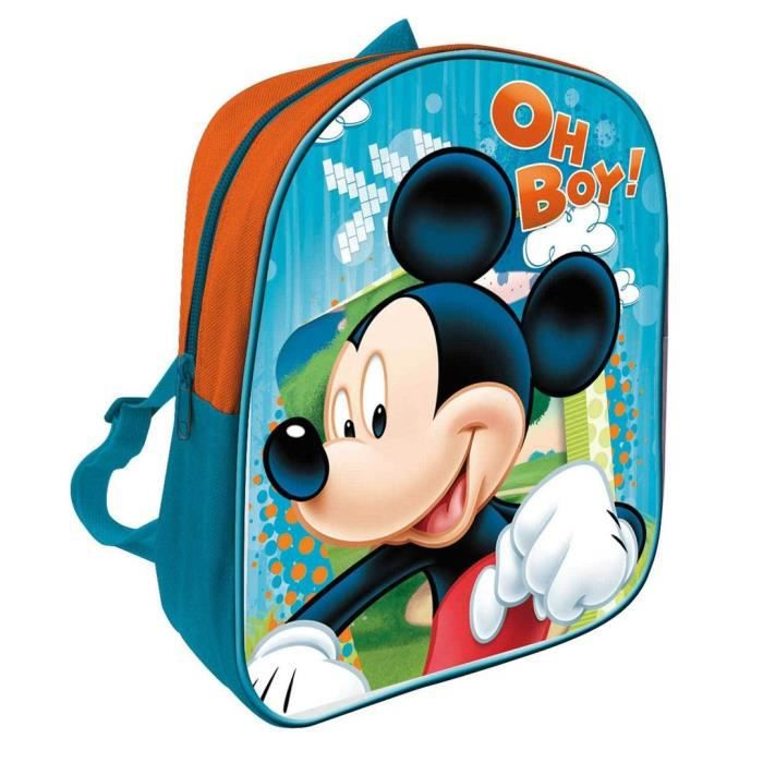 cute school bags sac ecole maternelle mickey. Black Bedroom Furniture Sets. Home Design Ideas