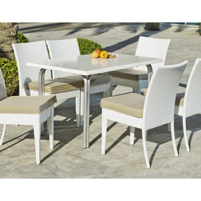 hevea table de jardin type bistrot 120x80cm achat vente table de jardin hevea table de. Black Bedroom Furniture Sets. Home Design Ideas