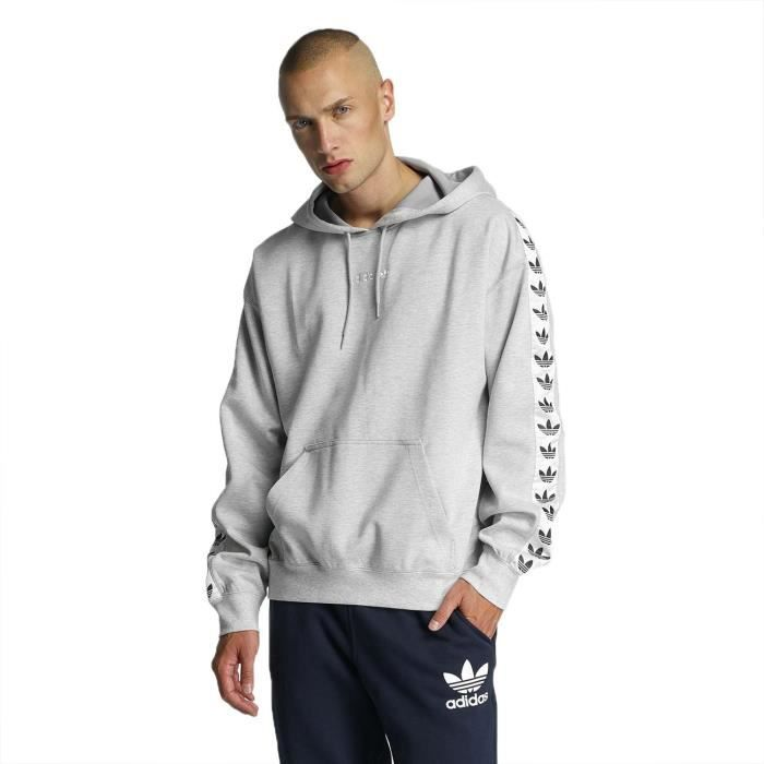 authentic undefeated x on sale Adidas Homme Hauts / Sweat à capuche TNT Tape Gris - Achat ...