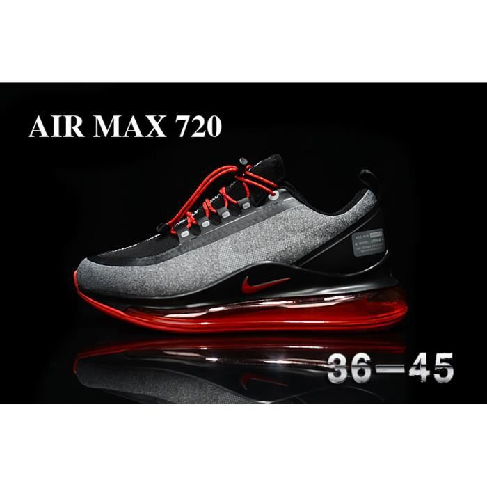 Nike air max 720 noir semelles rouges 2 42 Noir noir à semelles ...