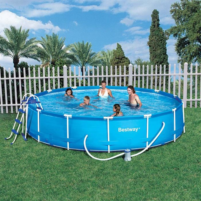 Piscine autostable ronde 457x91 achat vente kit for Achat thermopompe piscine