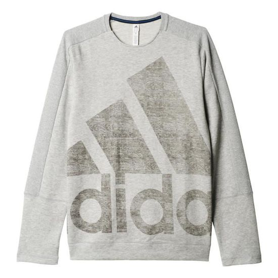 Adidas 1cozfo Logo Achat Vente S Atc Sweat Crew Taille Gris Ig7xPqrgnw