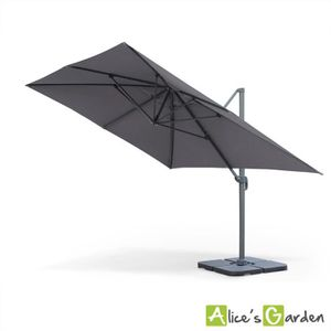parasol dport 4x3 beautiful best parasol parasol decentre fresno xm taupe hesperide with. Black Bedroom Furniture Sets. Home Design Ideas