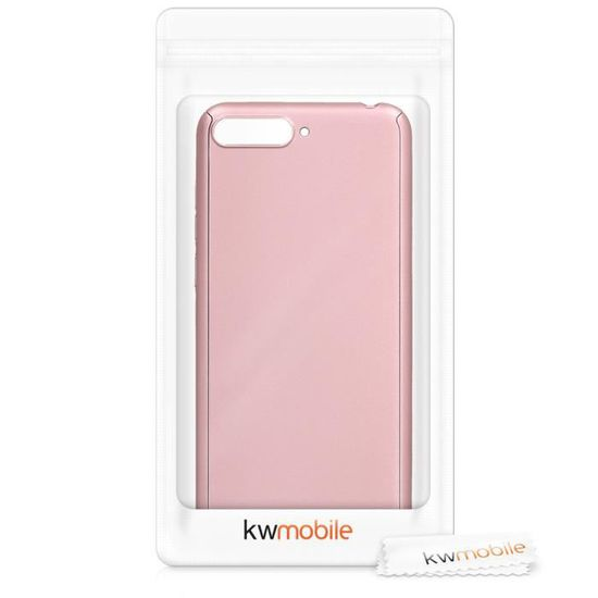 kwmobile Coque Huawei Y6 2019 Coque pour Huawei Y6 - Or Rose ...