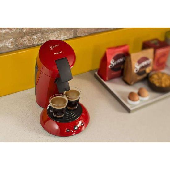 Philips Senseo Original Hd7817 91 Rouge Intense Achat Vente Machine A Cafe Cdiscount